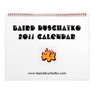baird duschatko 2011 calendar