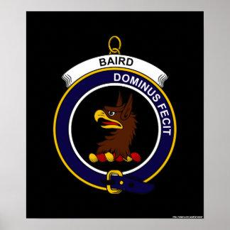 Baird - escudo del clan poster