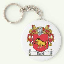 Baird Family Crest Keychain