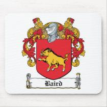 Baird Family Crest Mousepad