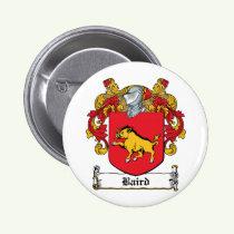 Baird Family Crest Button