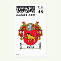 Baird Family Crest Stamps