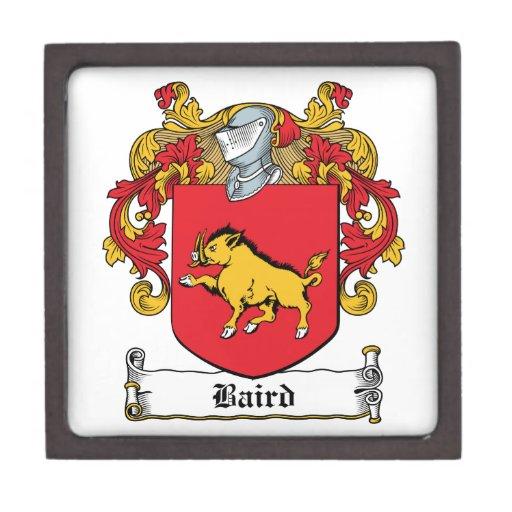 Baird Family Crest Premium Trinket Boxes
