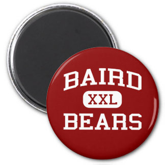Baird - osos - High School secundaria de Baird - B Imán De Nevera