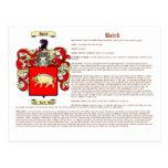 Baird (significado) tarjeta postal
