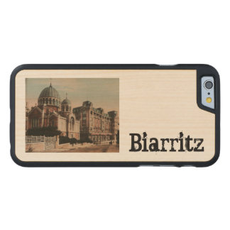 BAIRRITZ - Bajos Pyrénées de Cathedrale Les Funda De iPhone 6 Carved® Slim De Arce