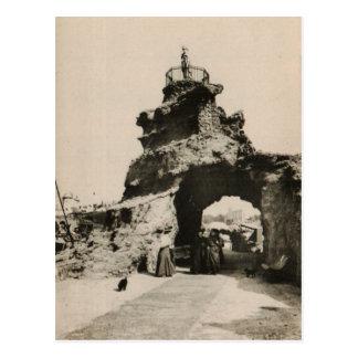 BAIRRITZ - Rocher de la Virge postcard 1920