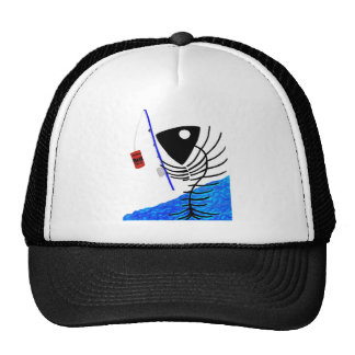 BAIT AND HOOK TRUCKER HAT