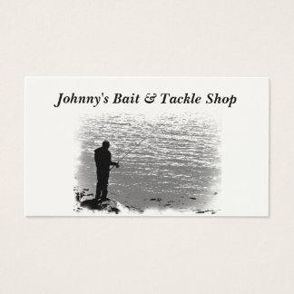 Bait and Tackle Shop Business Card