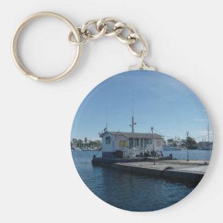 bait barge key chain
