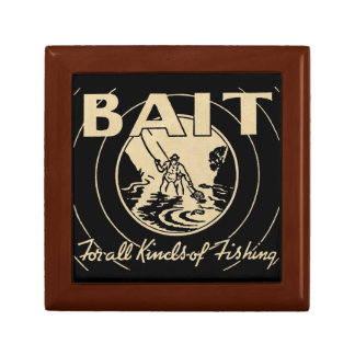 Bait for All Kinds of Fishing Jewelry Box