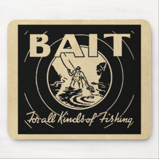 BAIT For All Kinds of Fishing Mouse Pad