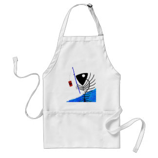 Bait & Hook Adult Apron