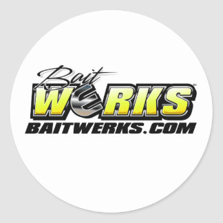 Bait Werks Logo stickers
