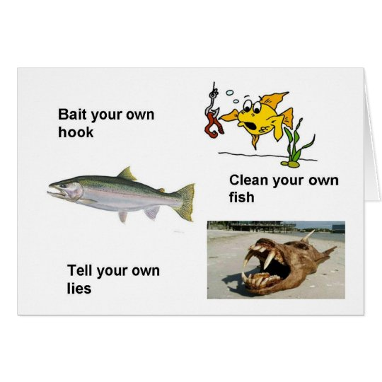 Bait Your Own Hook Card