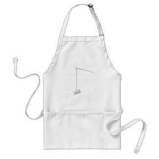 Baiting with Euro money Adult Apron