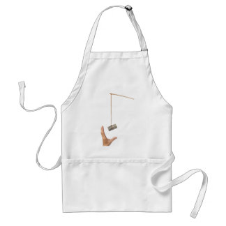 Baiting with money adult apron