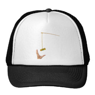 Baiting with Swiss money Trucker Hat