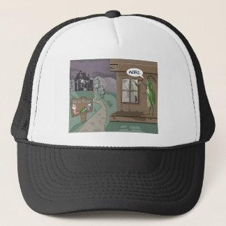 Baits Motel Funny Fishing Cartoon Gifts & Tees Trucker Hat