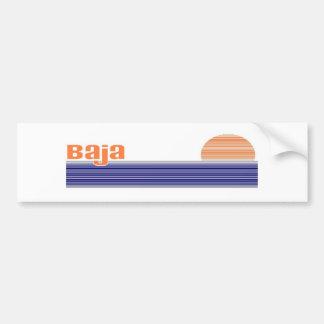 Baja Bumper Sticker