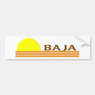 Baja Car Bumper Sticker