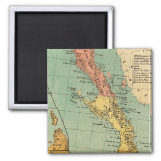 Baja California, Mexico 2 Inch Square Magnet