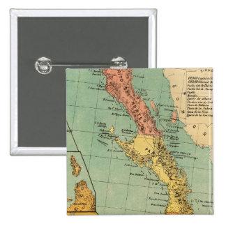 Baja California, Mexico Button