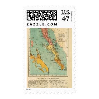 Baja California, Mexico Postage Stamp