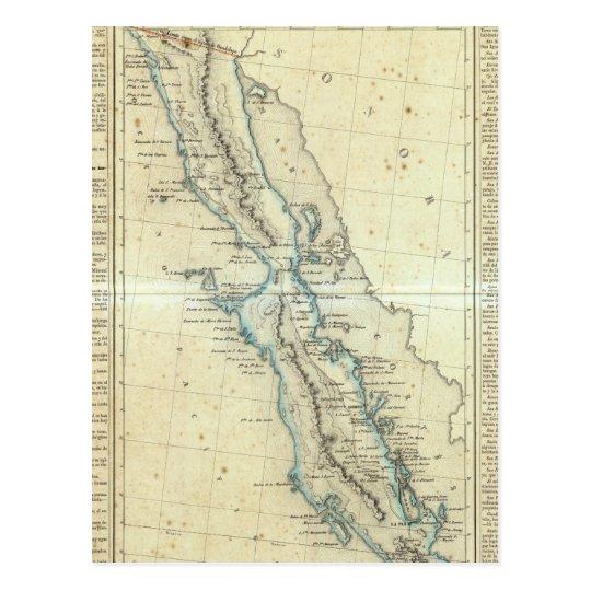 Baja California, Mexico Postcard