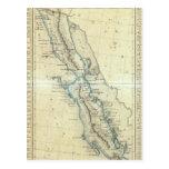 Baja California, México Tarjeta Postal