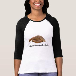 Baja California Rat Snake Ladies 3/4 Sleeve Raglan T-shirts