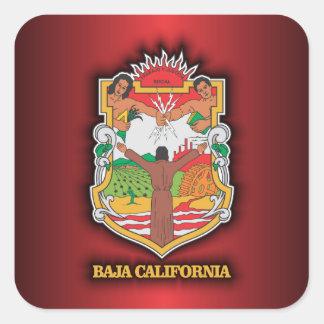 Baja California Square Sticker
