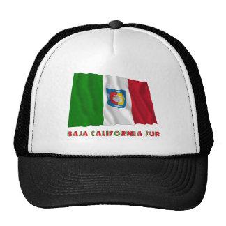Baja California Sur que agita la bandera oficiosa Gorro De Camionero