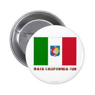 Baja California Sur Unofficial Flag Buttons