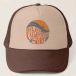 """Baja Californian Surf Vintage Trucker Hat<br><div class=""""desc"""">Baja Californian Surf Vintage Trucker Hat</div>"""