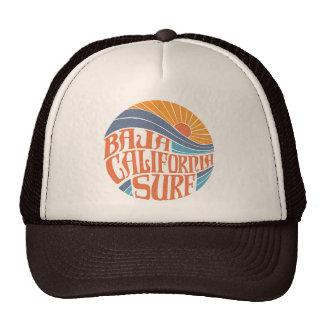 Baja Californian Surf Vintage Trucker Hat