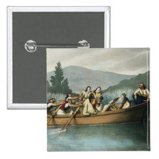 Bajá de Ali (1741-1822) de la caza de Janina en lo Pin Cuadrado