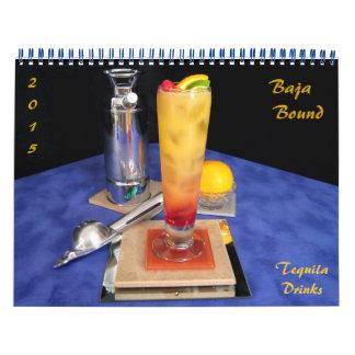 Baja limita - bebidas del Tequila Calendarios