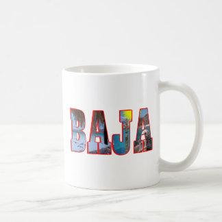Baja postcard coffee mug