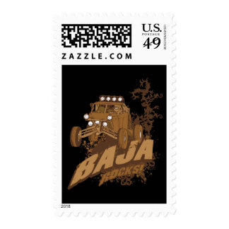 Baja Rocks! Stamp