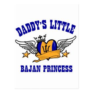 Bajan Princess Postcard