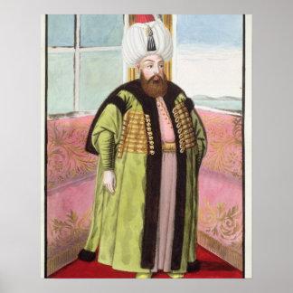 Bajazet (Bayezid) II (c.1447-1512) called 'Adli', Poster