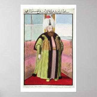 "Bajazet (Bayezid) II (c.1447-1512) llamó ""Adli"", Póster"