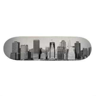 baje el horizonte de Manhattan, New York City Tablas De Skate
