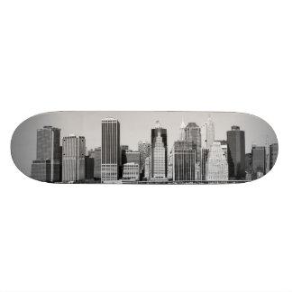 "baje el horizonte de Manhattan, New York City Patineta 8 1/2"""