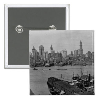 Baje el horizonte East River New York City de Nuev Pins