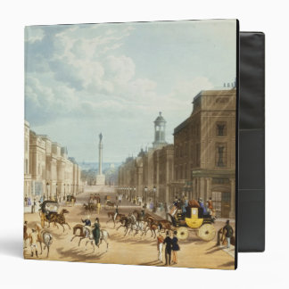 """Baje la calle regente, pub. por Ackermann, c.1835 Carpeta 1 1/2"""""""