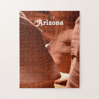 Baje la calzada del barranco del antílope puzzles con fotos