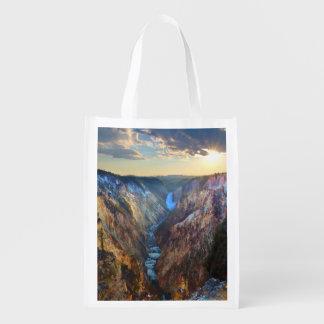 Baje las caídas del punto del artista bolsa reutilizable