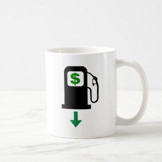 Baje los precios de la gasolina de los E.E.U.U. Taza Básica Blanca
